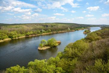 River Southern Bug. Ukraine.