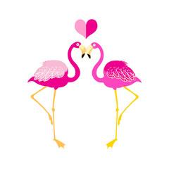 Graphics flamingo lovers