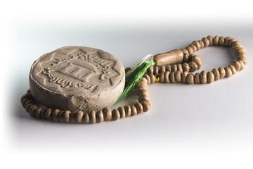 Shia Islam prayer clay from Karabala soil