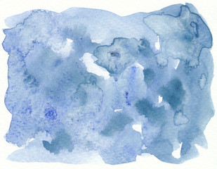 abstract dirty blue watercolor textures background