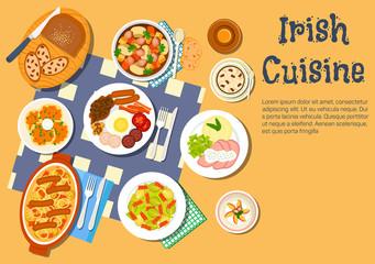 Nourishing meaty irish dishes for dinner menu icon
