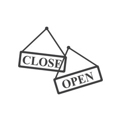 Open and close banner