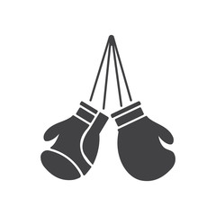 Boxing gloves icon.