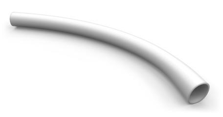 Flexible plastic tubing