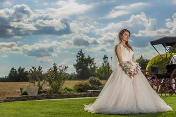 Modern Bride Getting Married