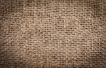 Hessian texture background vintage style