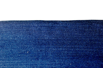 Texture of blue jeans background.