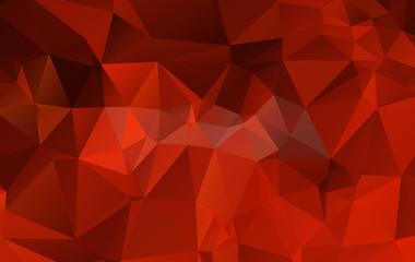 Abstract polygonal triangular background - vector illustration.e