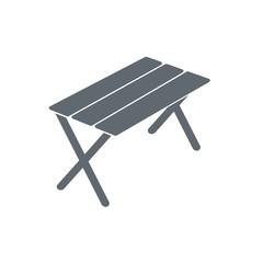 camp furniture icon