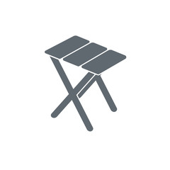 camp furniture icon
