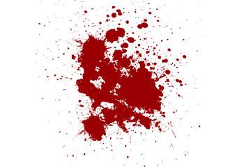 vector red ink splatter background. illustration vector design