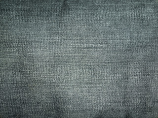 Texture of black jeans for background
