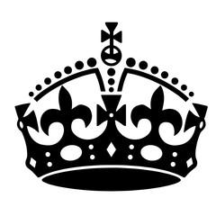 Crown  tattoo illustration