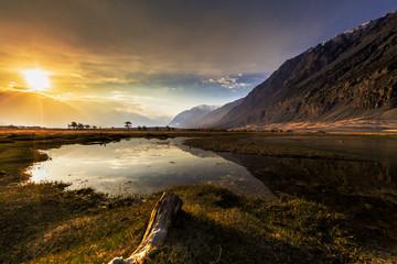 Sunrise at Nubra Valley, Leh Ladakh, India