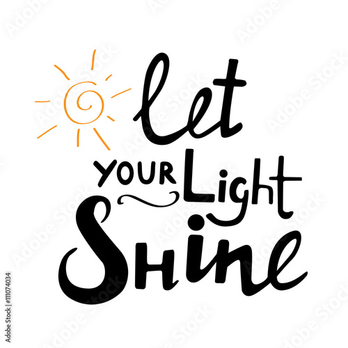 Let Your Light Shine Art