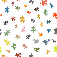 colorful puzzles pattern