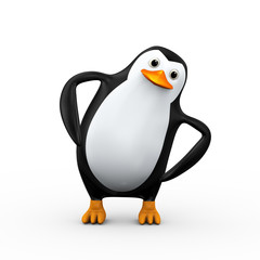 3d penguin exercise