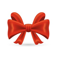 Realistic Red bow