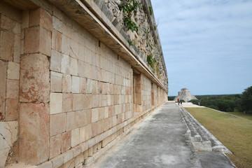 Ancient Mayan site Uxmal, Mexico.