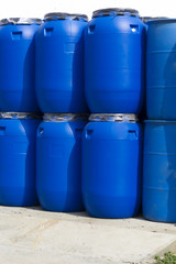 Plastic Storage Drums