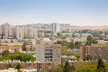 Beersheba, modern tall houses