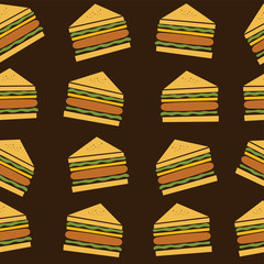 delicious sandwich theme