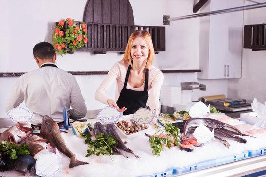 store fresh fish