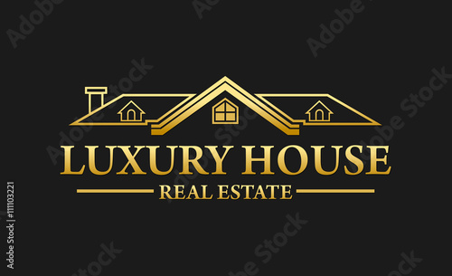 Luxury real estate logos images for Best house logo design