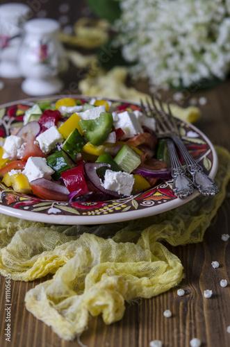 грецький салат з фото