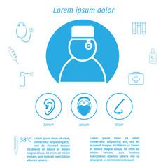 medicine infographic template