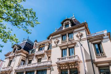 Le château Lumière à Lyon