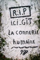 Graffitis et œuvres d'art