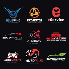 Logo collection,logo set,automotive logo,skull logo,rock logo,wing logo,warrior logo,sound logo,bike logo,Motorcycle logo,motorbike logo,t-shirt,tattoo,fox,lion logo,eagle,animal logo,crest,crests