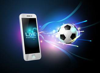 mobile football live and mobile phone