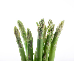 Foto op Plexiglas Cactus Asparagus on the white