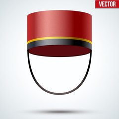 Bellboy Hat Vector Illustration