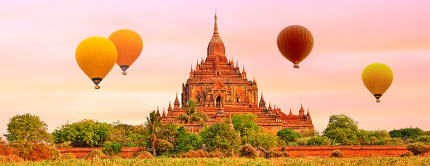Htilominlo Temple in Bagan. Myanmar.