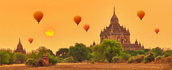 Htilominlo Temple in Bagan. Myanmar.