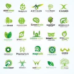 Logo set,Logo collection,creative logo set,idea,kids,marketing logo,education logo,green and ecology logo,people logo,lotus logo,mountain logo,vector logo template