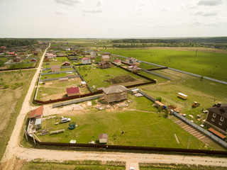 Village view from above