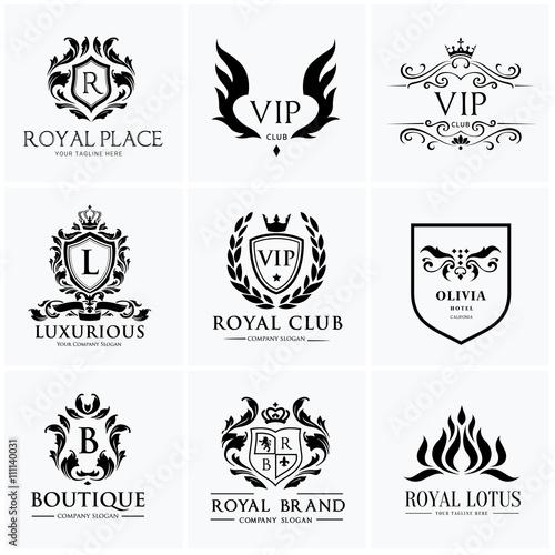 Luxury Logo SetBest Selected CollectionHotel Logocrest Setboutique