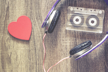 Love music concept