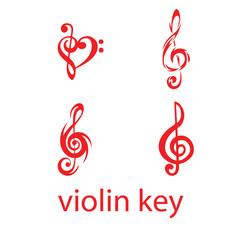 violine key