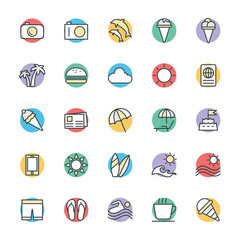 Summer Cool Vector Icons 2