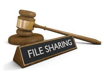 Laws and legislation against online file sharing, 3D rendering