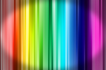Abstract rainbow gradient background in watercolor style