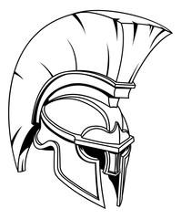 Spartan or Trojan Gladiator Helmet