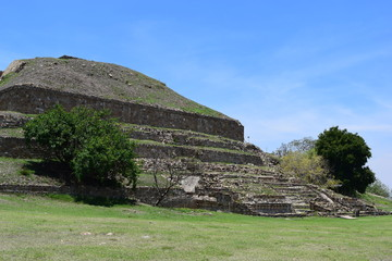 Monte Alban ruins, Oaxaca Mexico