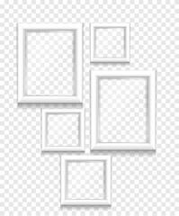 white frame isolated vector design