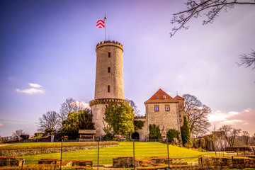 Fototapete - Sparrenburg in Bielefeld